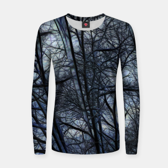 Miniatur Twilight Snowscape With Icicles Women sweater, Live Heroes