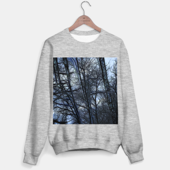 Miniatur Twilight Snowscape With Icicles Sweater regular, Live Heroes