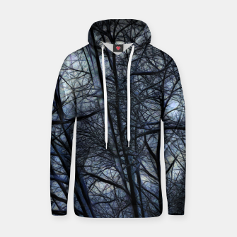 Miniatur Twilight Snowscape With Icicles Hoodie, Live Heroes