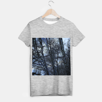 Thumbnail image of Twilight Snowscape With Icicles T-shirt regular, Live Heroes