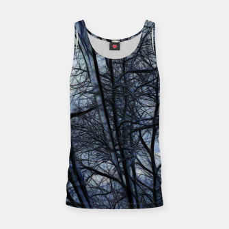 Miniatur Twilight Snowscape With Icicles Tank Top, Live Heroes