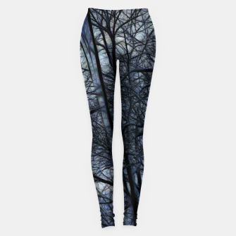Miniatur Twilight Snowscape With Icicles Leggings, Live Heroes