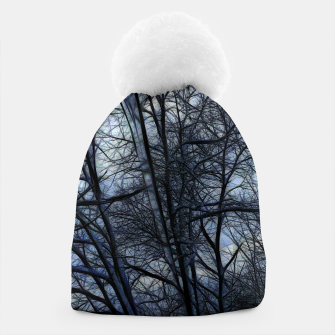 Miniatur Twilight Snowscape With Icicles Beanie, Live Heroes