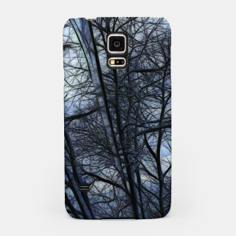 Miniatur Twilight Snowscape With Icicles Samsung Case, Live Heroes