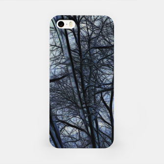 Thumbnail image of Twilight Snowscape With Icicles iPhone Case, Live Heroes