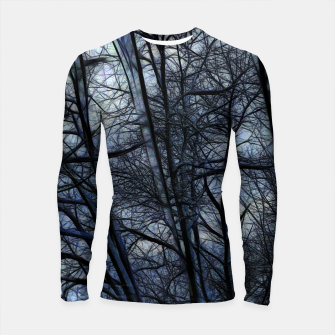 Thumbnail image of Twilight Snowscape With Icicles Longsleeve rashguard , Live Heroes