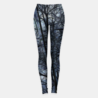 Thumbnail image of Twilight Snowscape With Icicles Leggings, Live Heroes