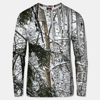Thumbnail image of Icicles on The tree Unisex sweater, Live Heroes