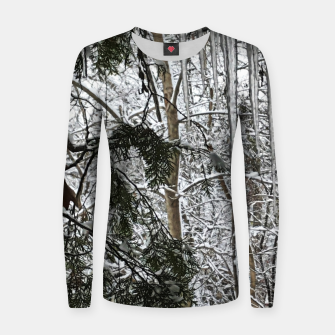 Thumbnail image of Icicles on The tree Women sweater, Live Heroes