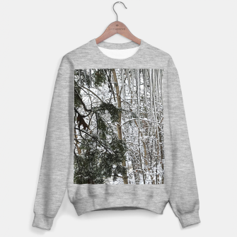 Thumbnail image of Icicles on The tree Sweater regular, Live Heroes