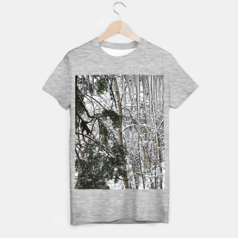 Thumbnail image of Icicles on The tree T-shirt regular, Live Heroes