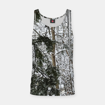 Thumbnail image of Icicles on The tree Tank Top, Live Heroes