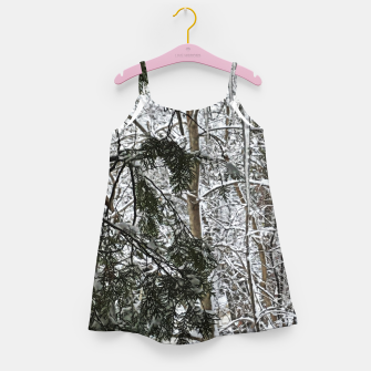 Thumbnail image of Icicles on The tree Girl's dress, Live Heroes