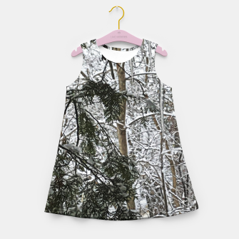 Thumbnail image of Icicles on The tree Girl's summer dress, Live Heroes