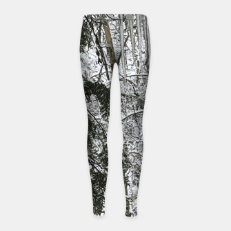 Thumbnail image of Icicles on The tree Girl's leggings, Live Heroes