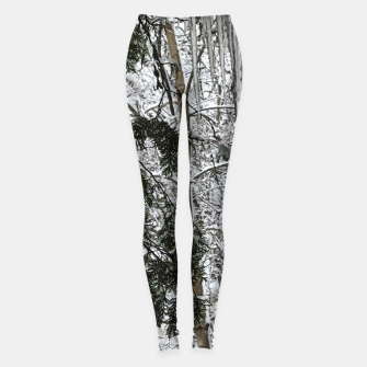 Thumbnail image of Icicles on The tree Leggings, Live Heroes