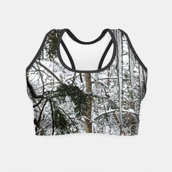 Thumbnail image of Icicles on The tree Crop Top, Live Heroes