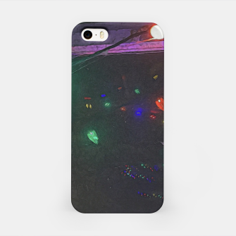 Thumbnail image of Christmas Lights Window Reflection iPhone Case, Live Heroes
