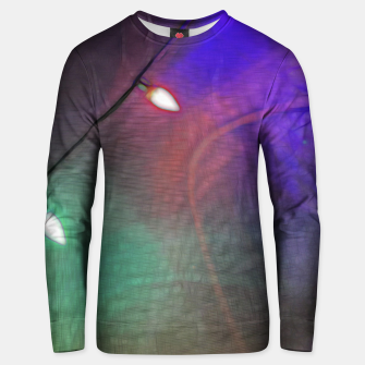 Thumbnail image of Christmas Lights Screen Dance Unisex sweater, Live Heroes
