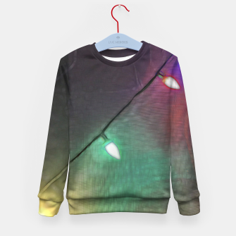 Thumbnail image of Christmas Lights Screen Dance Kid's sweater, Live Heroes