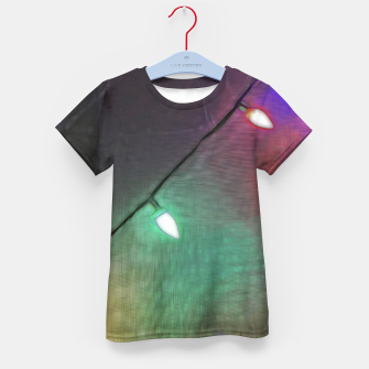 Thumbnail image of Christmas Lights Screen Dance Kid's t-shirt, Live Heroes