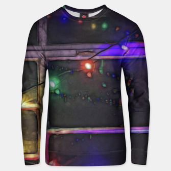 Thumbnail image of Christmas Lights Refraction Unisex sweater, Live Heroes