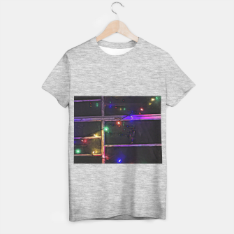 Thumbnail image of Christmas Lights Refraction T-shirt regular, Live Heroes