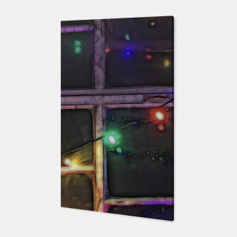 Thumbnail image of Christmas Lights Refraction Canvas, Live Heroes