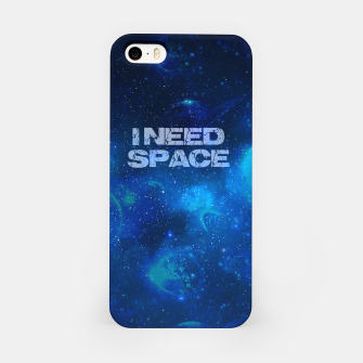 Thumbnail image of I need space iPhone-Hülle, Live Heroes