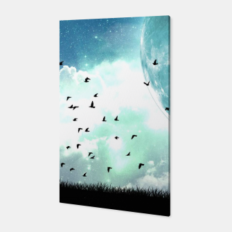 Thumbnail image of Moon Birds Canvas, Live Heroes