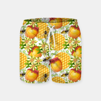 Thumbnail image of Honey Bees Swim Shorts, Live Heroes