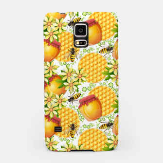 Miniatur Honey Bees Samsung Case, Live Heroes
