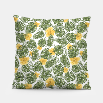 Thumbnail image of Yellow Roses Pillow, Live Heroes