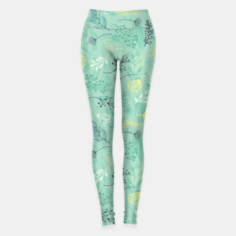 Thumbnail image of Forest Herbs Leggings, Live Heroes