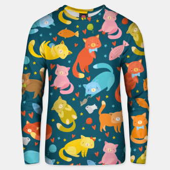 Thumbnail image of Kitty's pattern Unisex sweater, Live Heroes