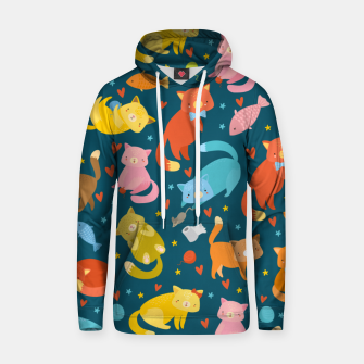Thumbnail image of Kitty's pattern Hoodie, Live Heroes