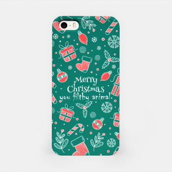 Thumbnail image of Merry Christmas you filthy iPhone Case, Live Heroes