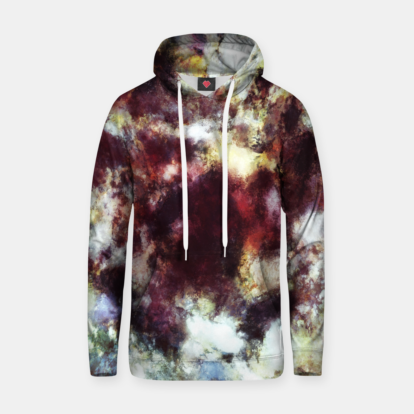 Image of Unstable surface Hoodie - Live Heroes
