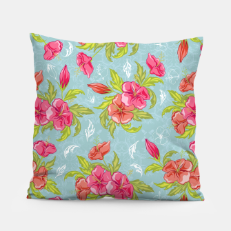 Thumbnail image of Colorful Floral Pillow, Live Heroes