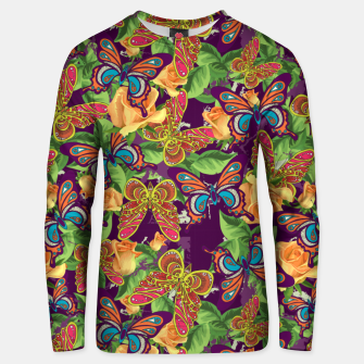 Miniatur Unique colorful butterflies Unisex sweater, Live Heroes
