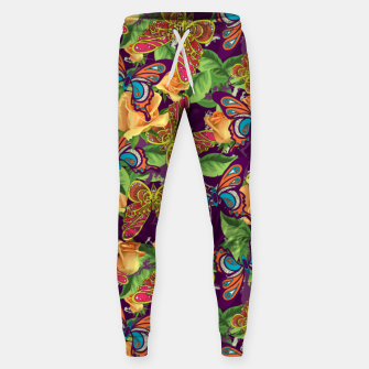 Miniatur Unique colorful butterflies Sweatpants, Live Heroes