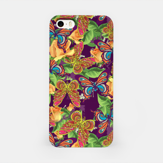 Thumbnail image of Unique colorful butterflies iPhone Case, Live Heroes