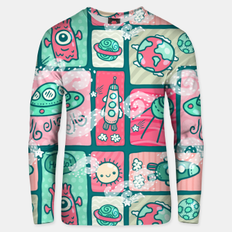 Thumbnail image of Hello Alien Unisex sweater, Live Heroes