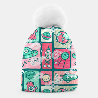 Thumbnail image of Hello Alien Beanie, Live Heroes
