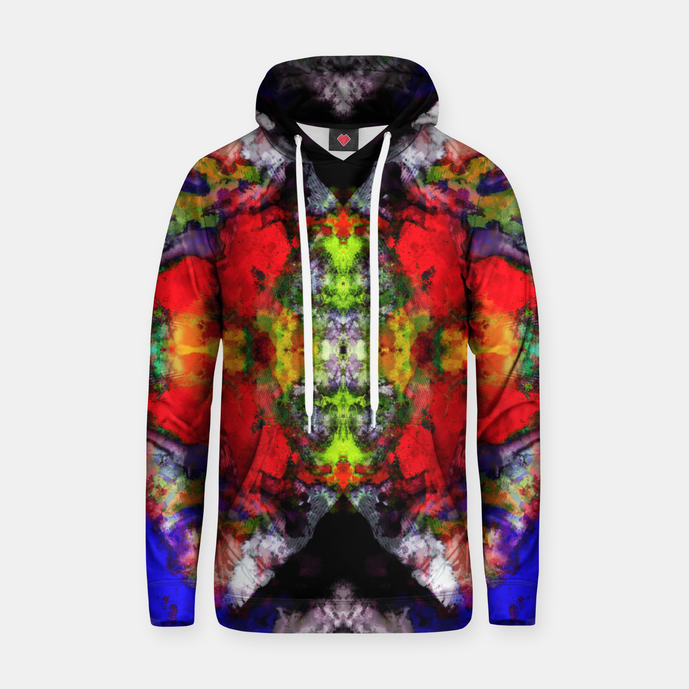 Image of Angular voices Hoodie - Live Heroes