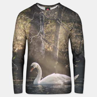 Thumbnail image of swan #1 Unisex sweater, Live Heroes