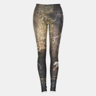 Thumbnail image of swan #1 Leggings, Live Heroes