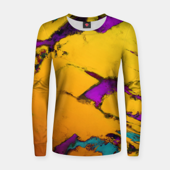 Thumbnail image of Yellow erosion Women sweater, Live Heroes