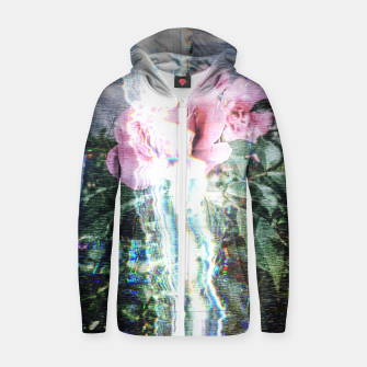Thumbnail image of Electronic Nature  Zip up hoodie, Live Heroes