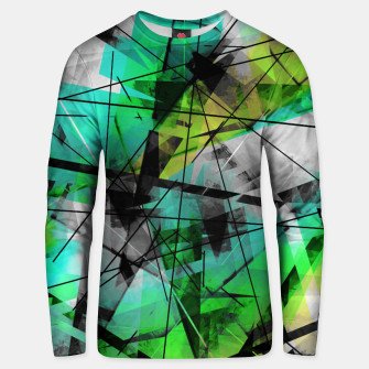 Breaking Boundaries - Futuristic Geometric Abstrct Art Unisex sweater thumbnail image